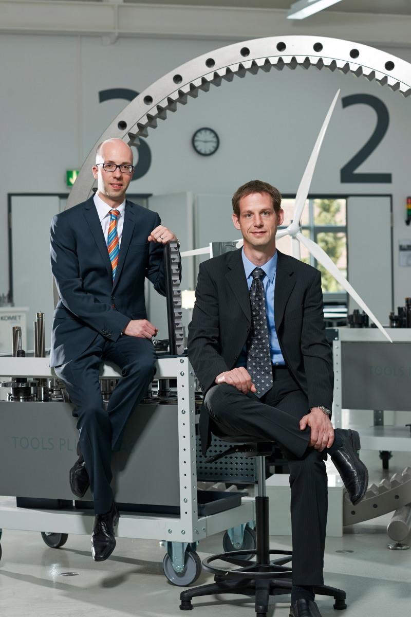 Herr Dr. Kramer (links) Herr Dr. Ledermann (rechts)